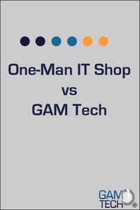 One Man Shop vs GAM cover